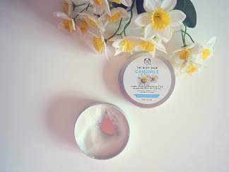 swish my swag the body shop camomile cleansing balm