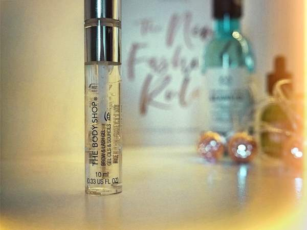 Swish My Swag The Body Shop brow and lash gel cruelty free beauty review