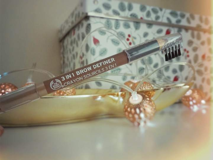Swish My Swag cruelty free beauty The Body Shop 3 in 1 brow definer review