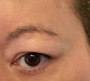 Swish My Swag The Body Shop CRUELTY FREE BEAUTY BROW DEFINER PENCIL HIGHLIGHTER BEFORE PIC