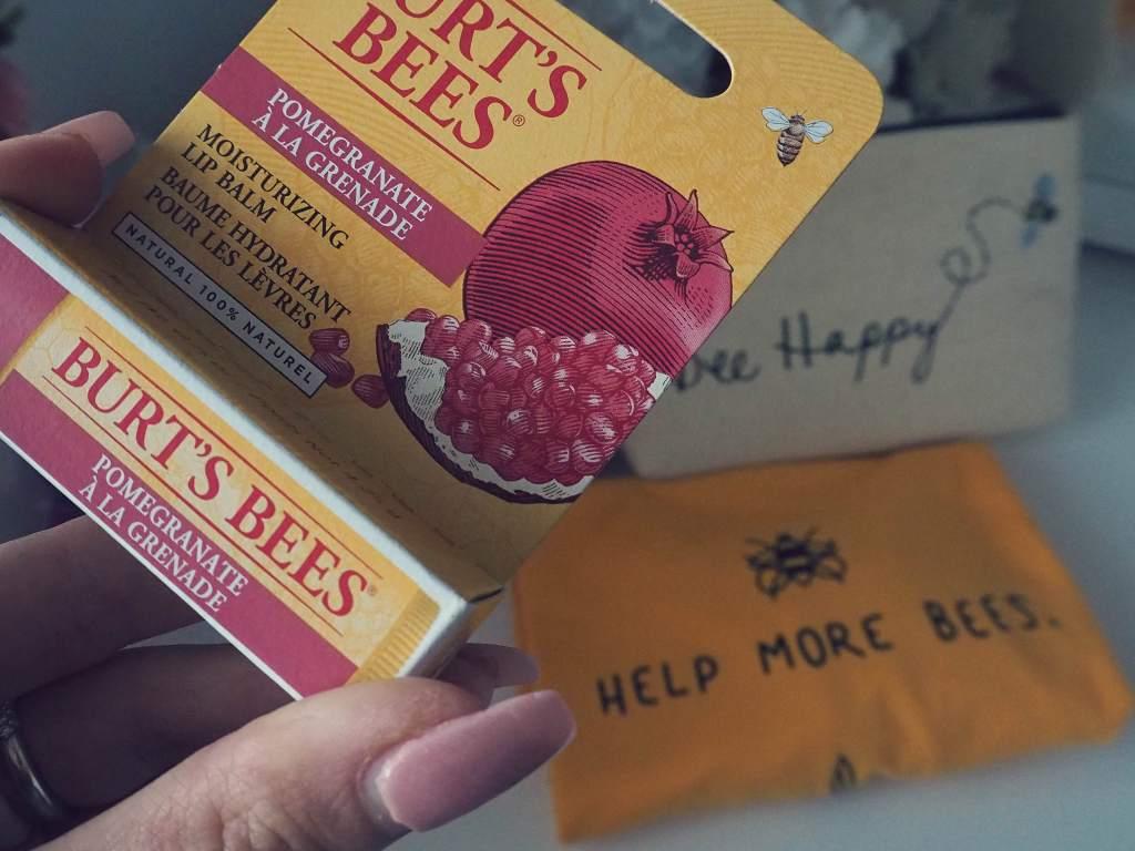alchemy by amy uk cruelty free vegan boots haul burts bees pomegranate lip balm