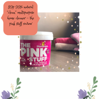 "89p 99% Natural ""Clean"" Non Toxic Multipurpose Home Cleaner - The Pink Stuff Review"