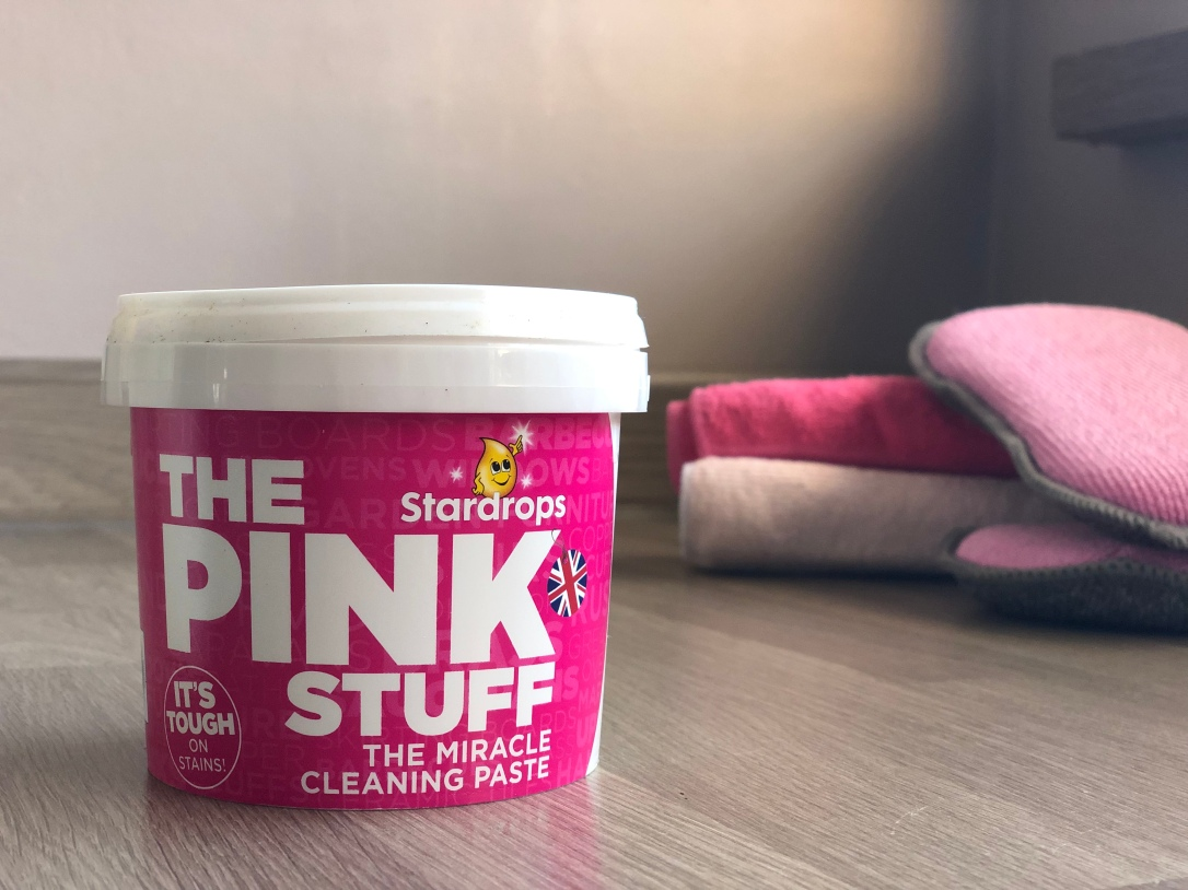"""89p 99% Natural """"Clean"""" Multipurpose Home Cleaner - The Pink Stuff Review alchemy by amy uk non toxic chemical free"""