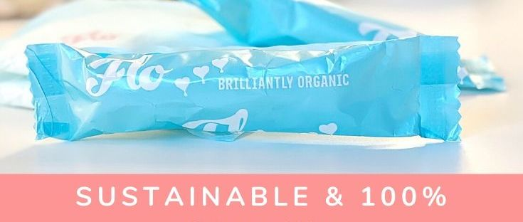 Sustainable, Non Toxic Period Care - Feminine Hygiene Products Review cruelty free 100% organic cotton PETA certified tampons pads towels here we flo alchemy by amy uk